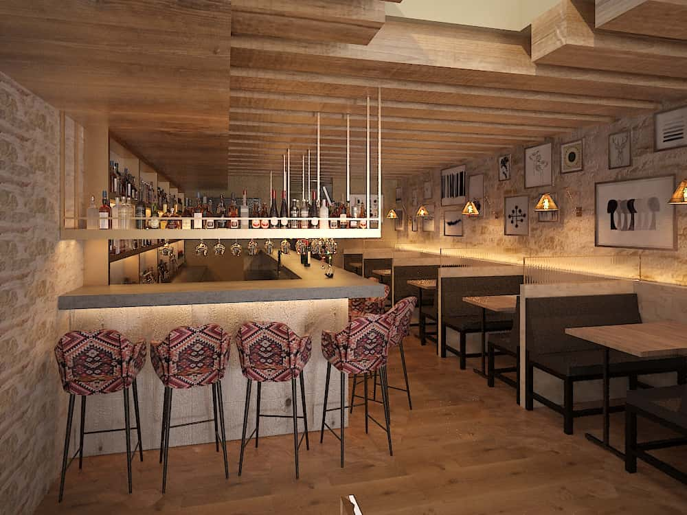 3D Rendering of the new Ambar Interior Design