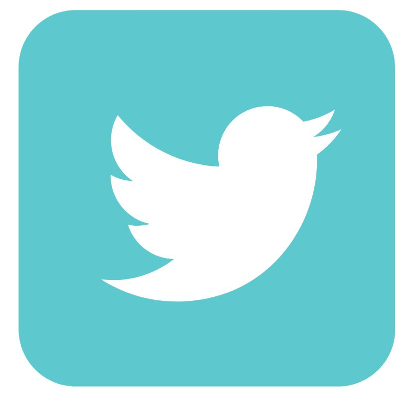 Green Twitter logo