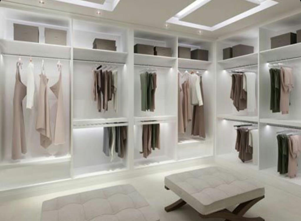 Custom white wardrobes South Yorkshire by Lydia Jessica