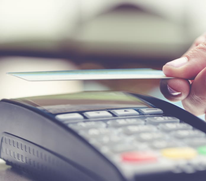 Terminal Payment Transaction Image Merchant Services in Fort Worth, Texas