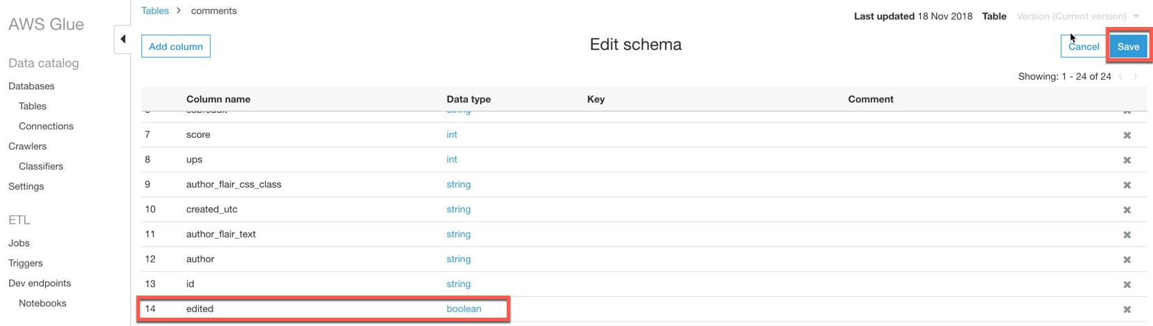 schema-editing