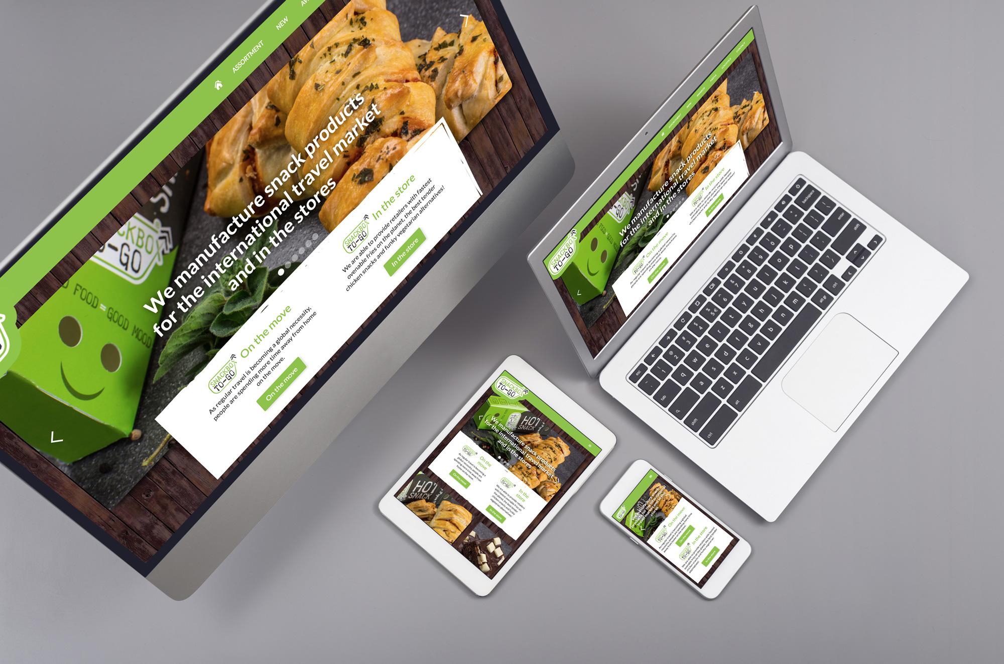 snackboxtogo webflow website