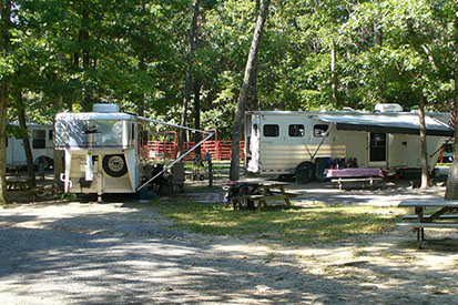 Hookups for Camp Sites at Fort Valley Ranch