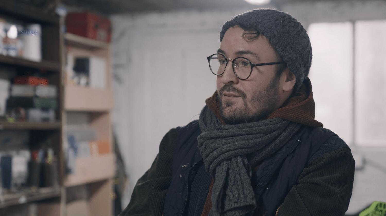 Florent Quessandier : artisan menuisier et 1er client Blank