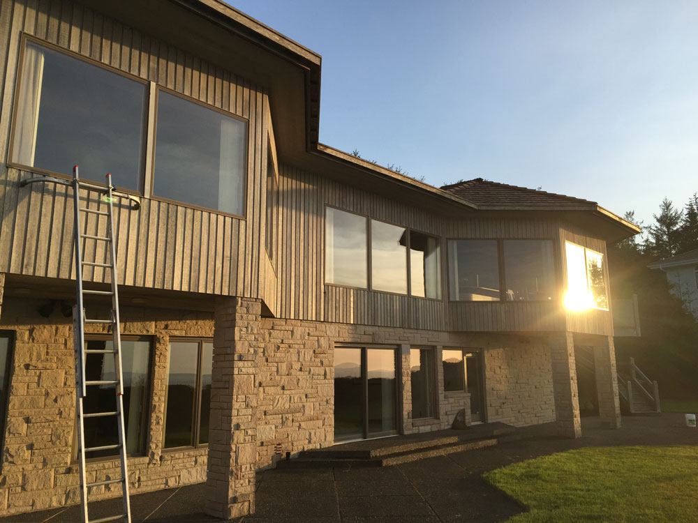 Window cleaning project by Sea Clean