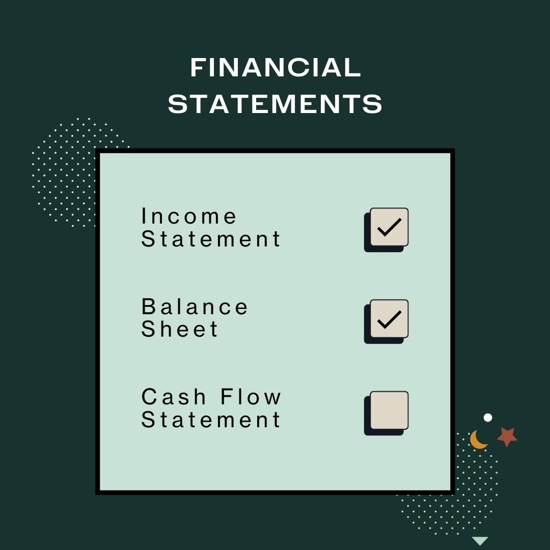 The three financial statements