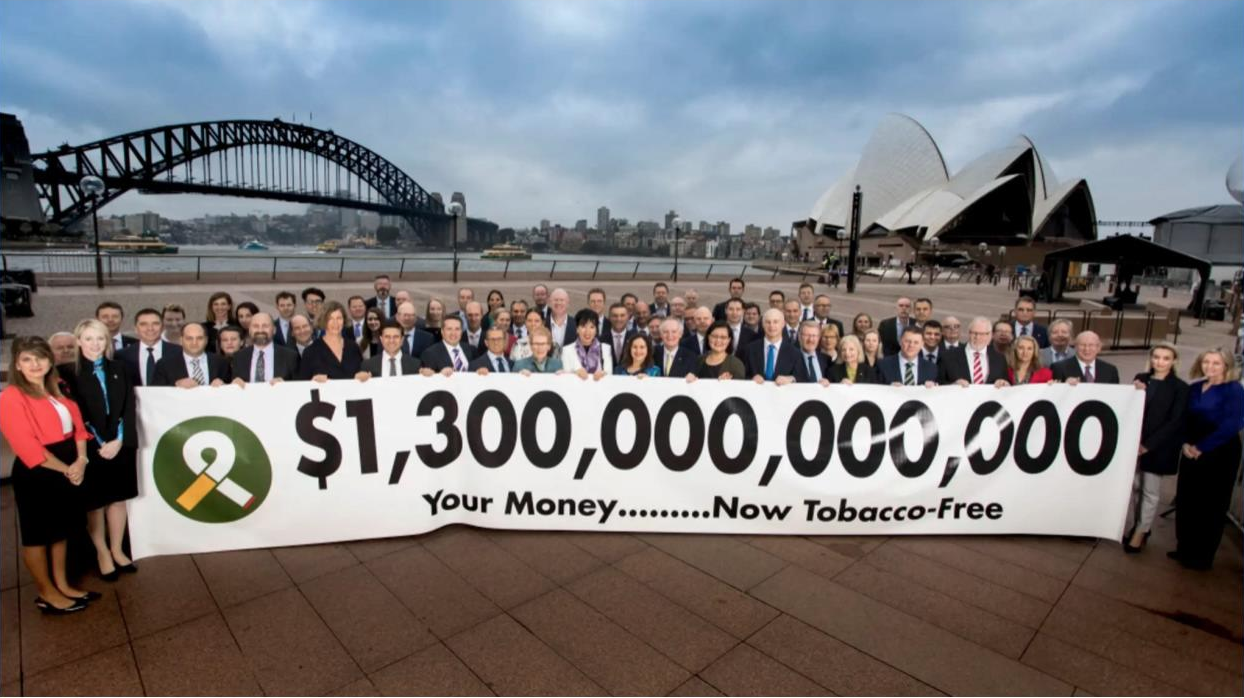 Talaria joins global launch of Tobacco Free Portfolios