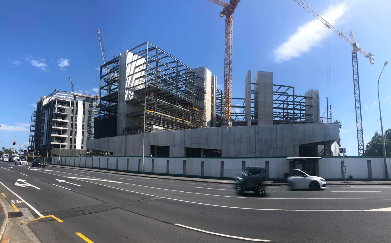 6 Waikumete Road construction 2019