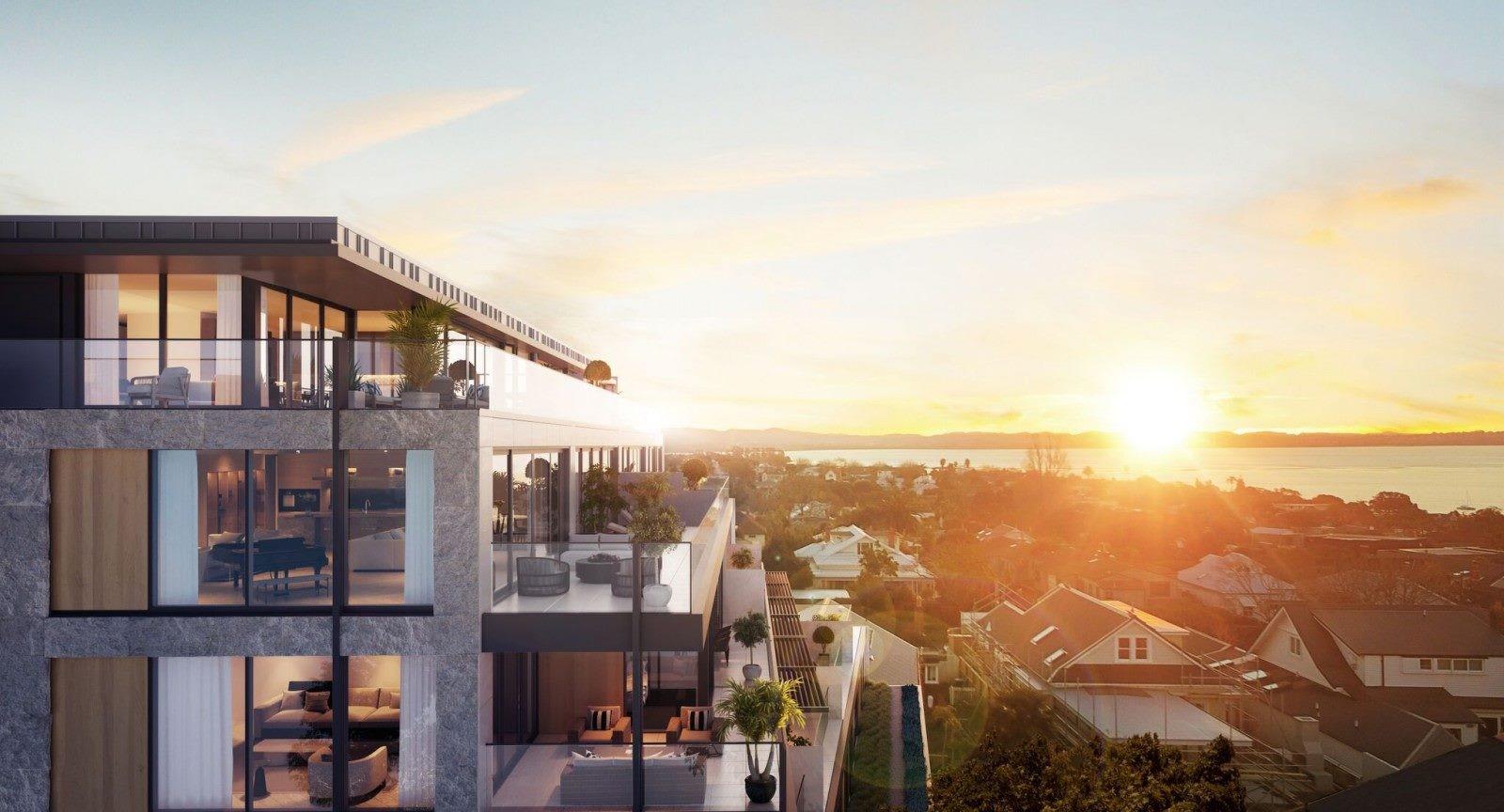 Jervois apartments - artist rendering