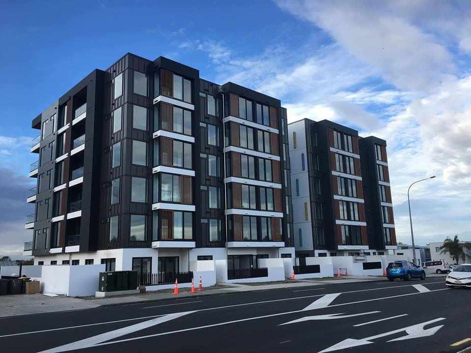 Sargeson apartments completed