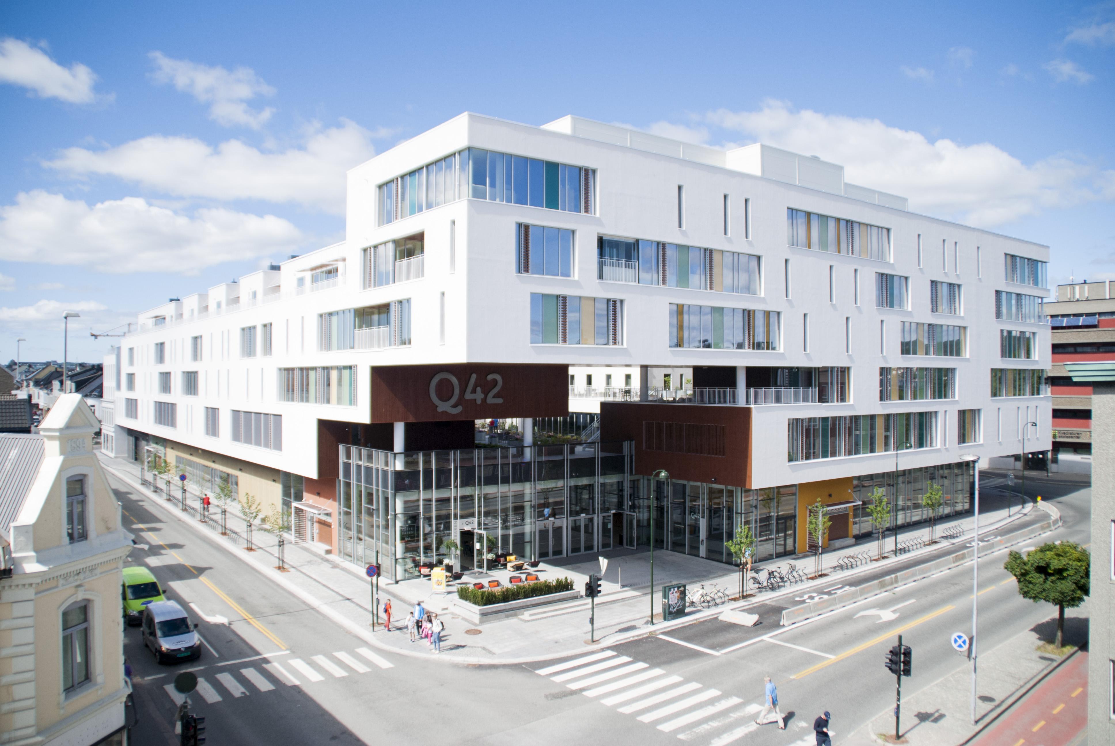 Fasade, Q42 i Kristiansand