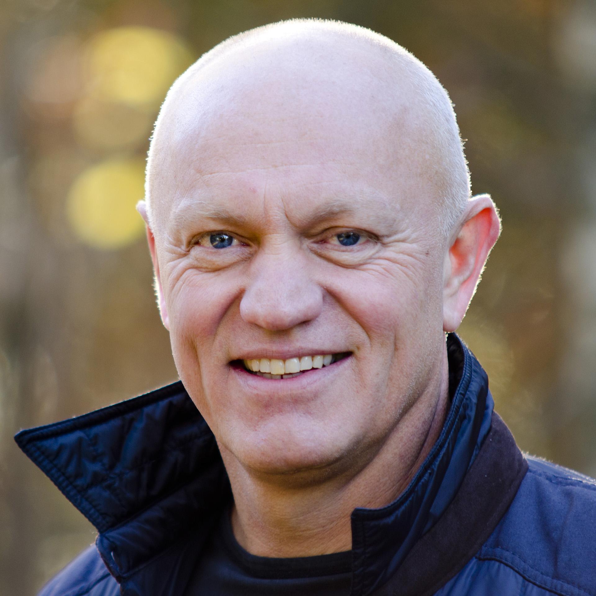 Rektor Jan Frithjof Bay Gundersen