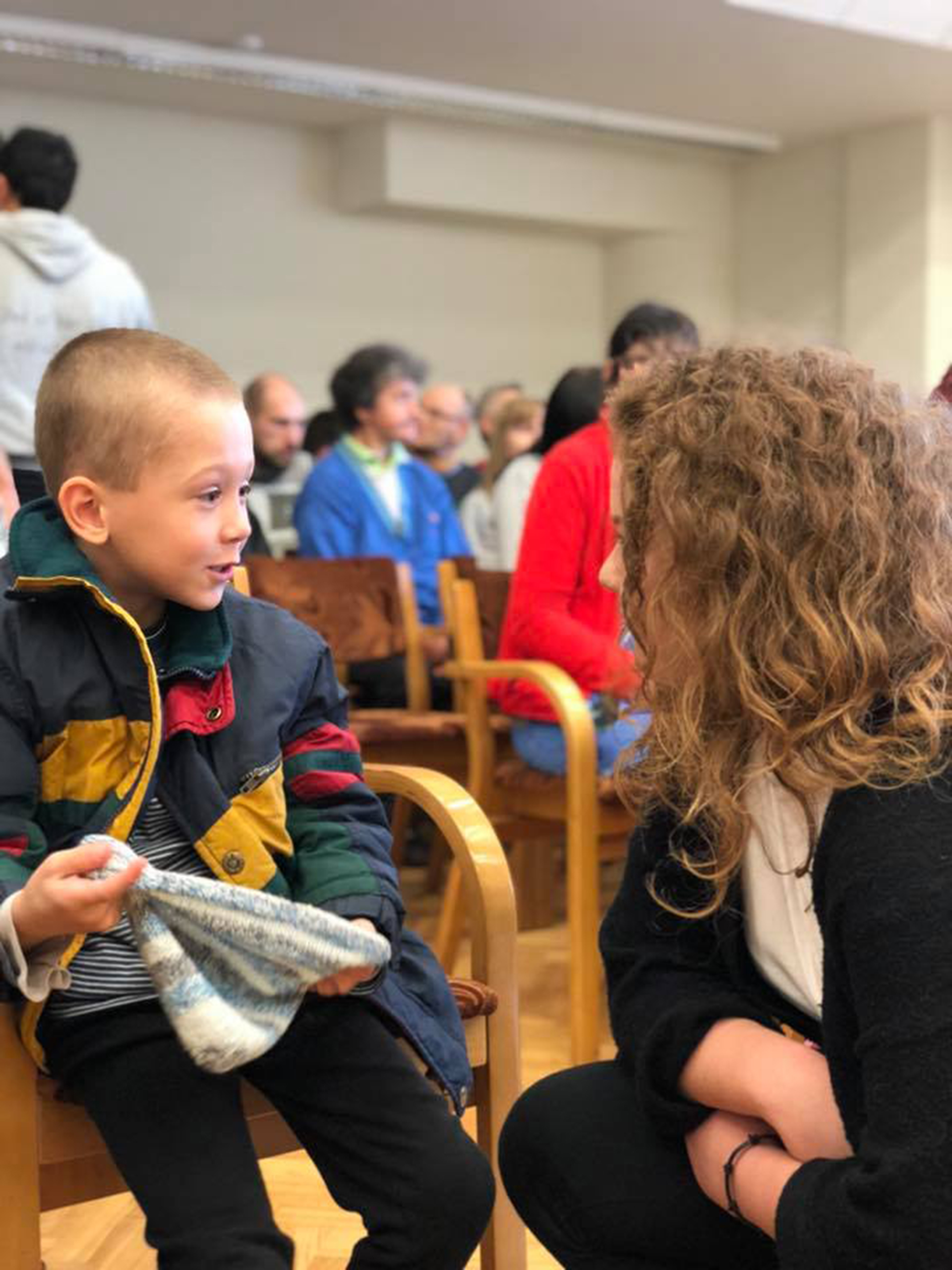 Barnehjemsbesøk i Latvia