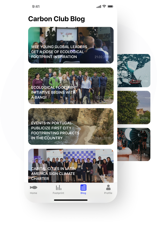 Environmental app development