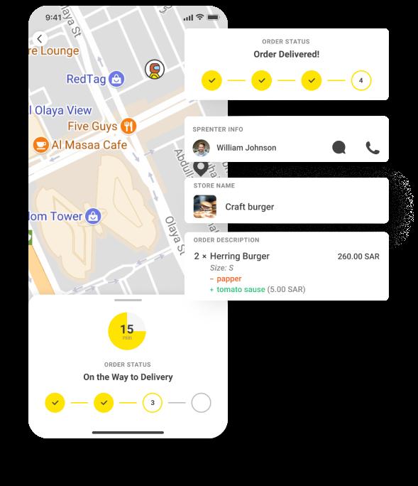 ondemand delivery app case study