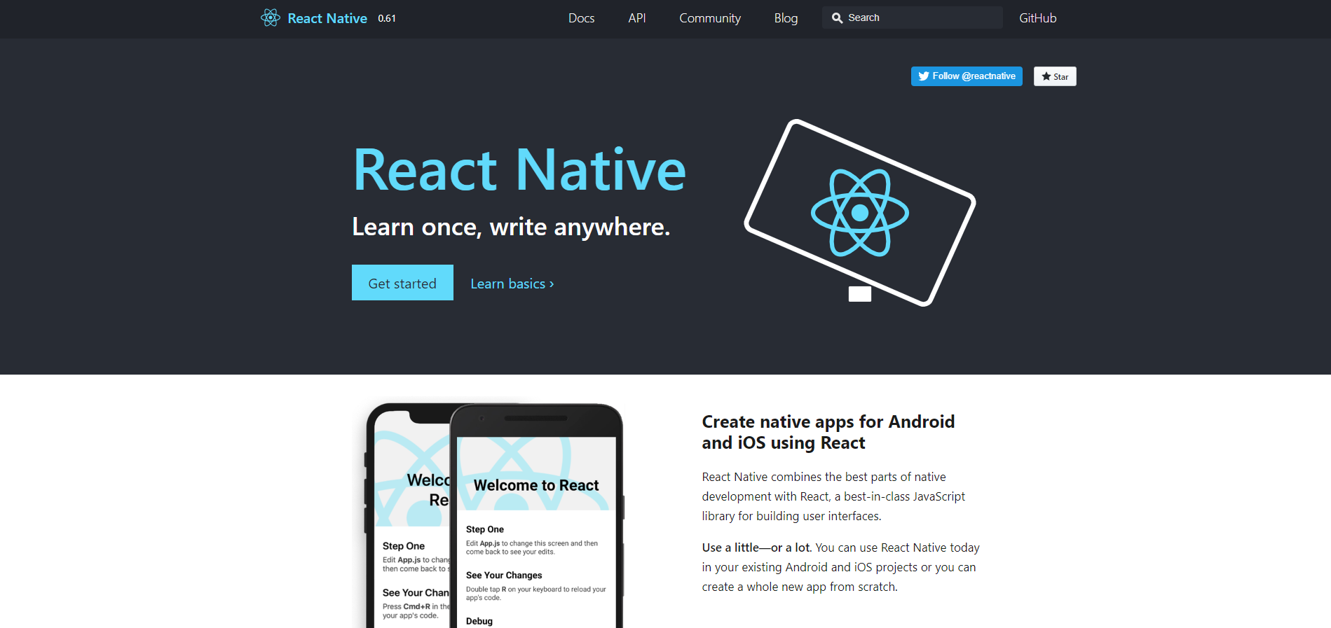 react native android