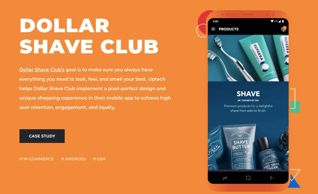 dollar shave club case study