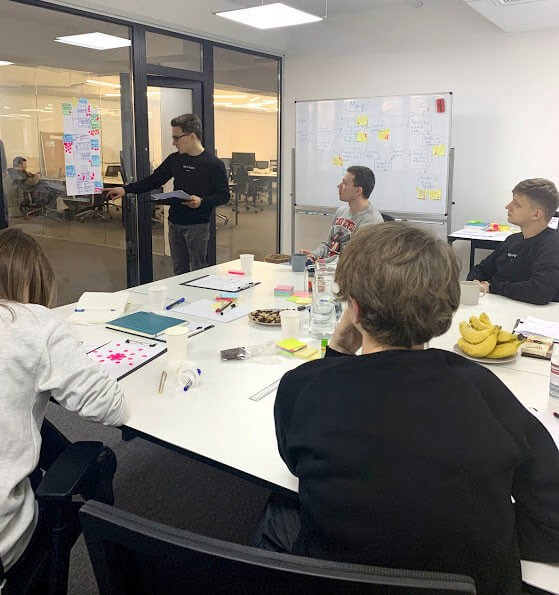 Design Sprint Solution presentation