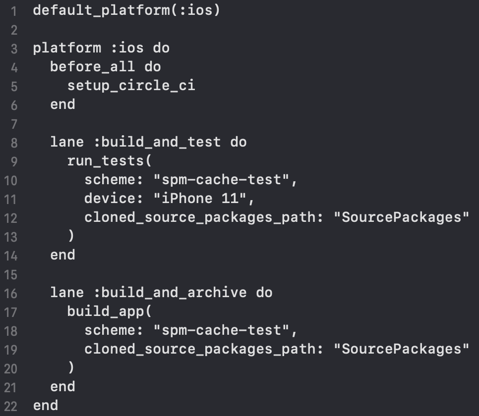ios package manager