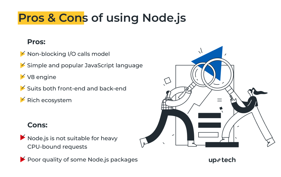 Pros and Cons of using Node.js