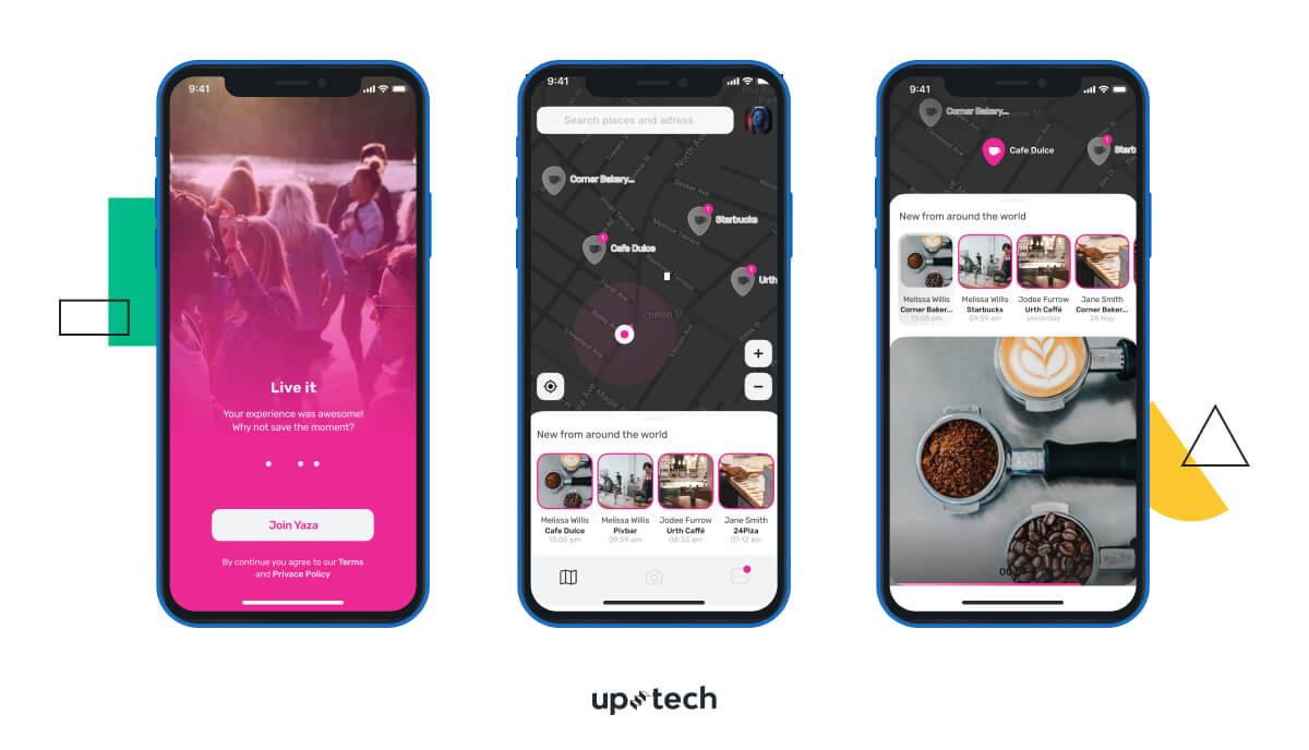 UX/UI design app