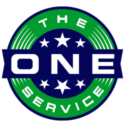 the ONE service san antonio logo