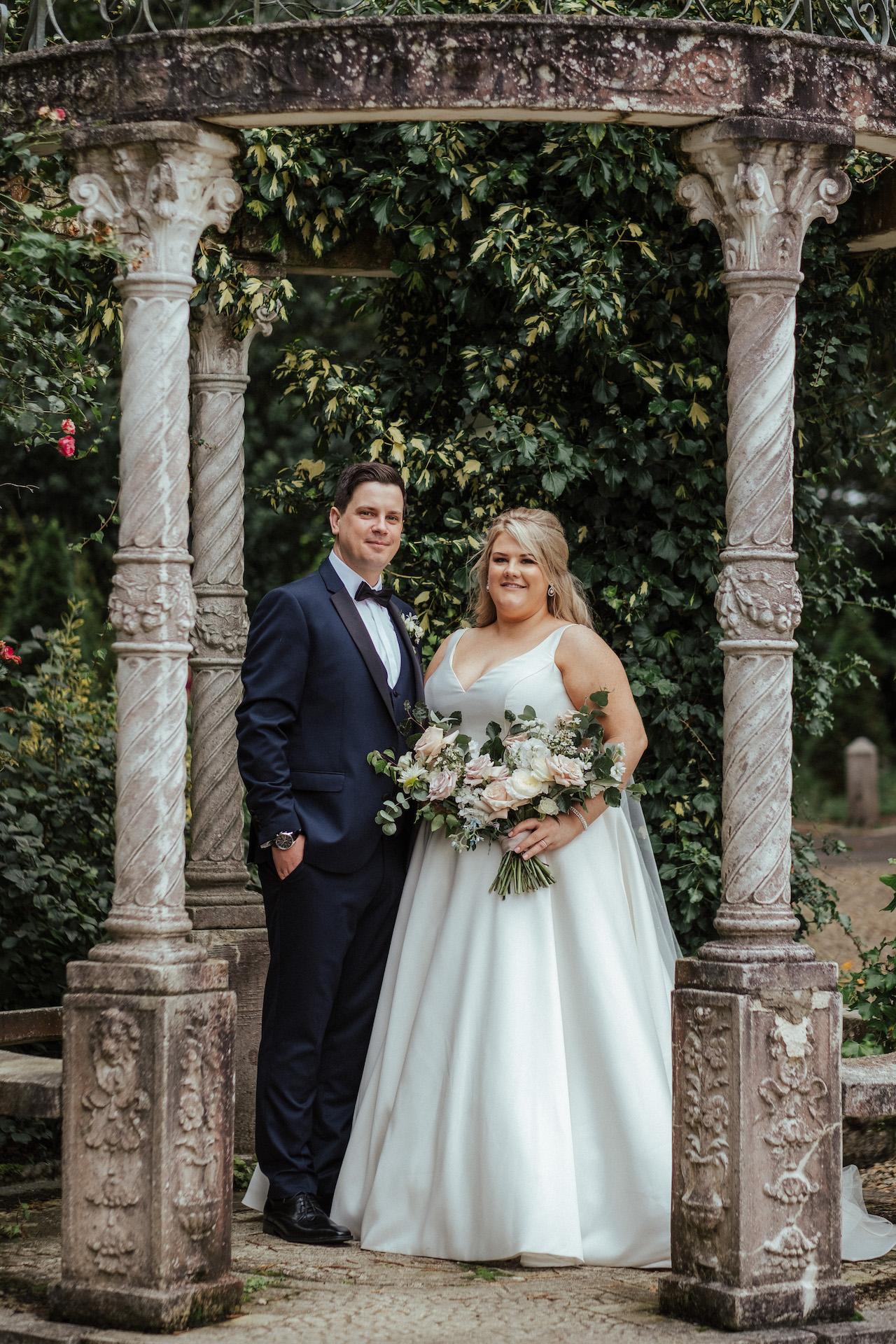 Bride and Groom in Ireland