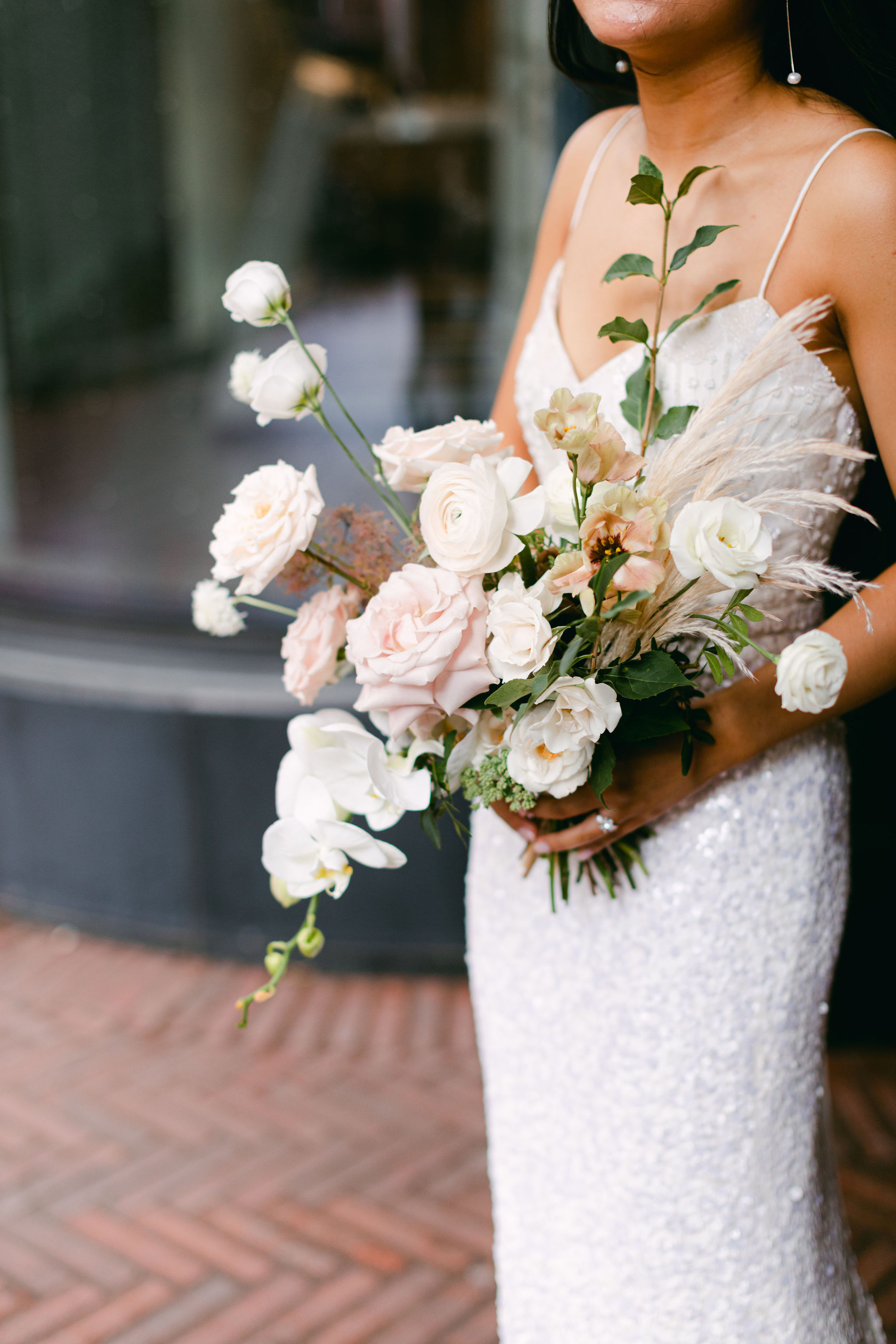 Bride with Flowers