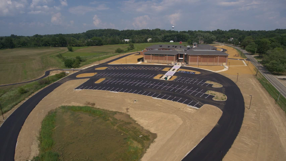 Paving project for Doylestown Schools - Most Paving Company