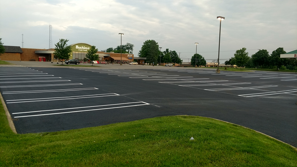 Paving project for Beuhler's Milltown Wooster - Most Paving Company
