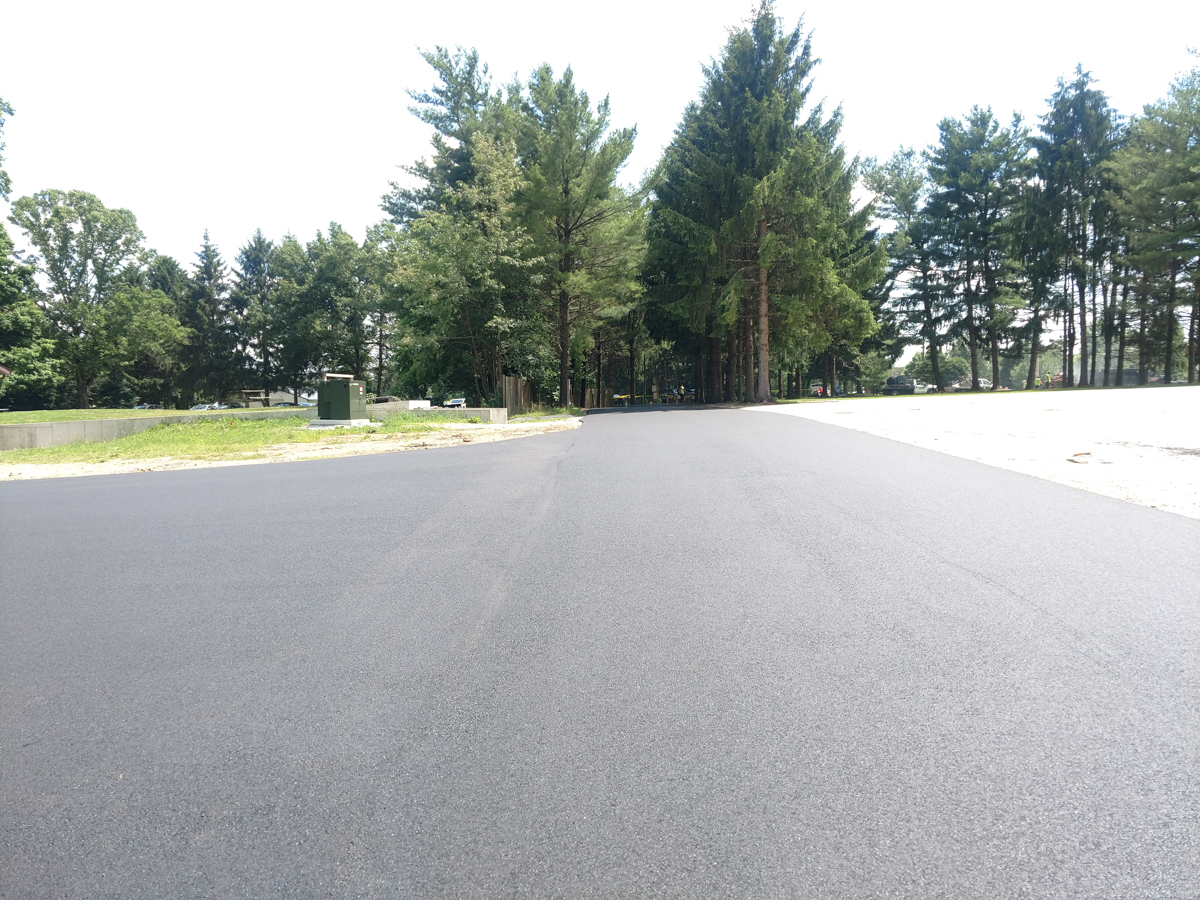 Paving project for The Winery At Wolf Creek - Most Paving Company