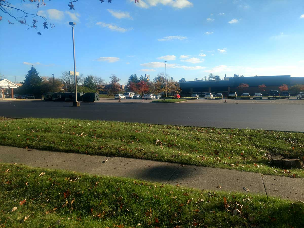 Paving project for Beuhler's Wadsworth