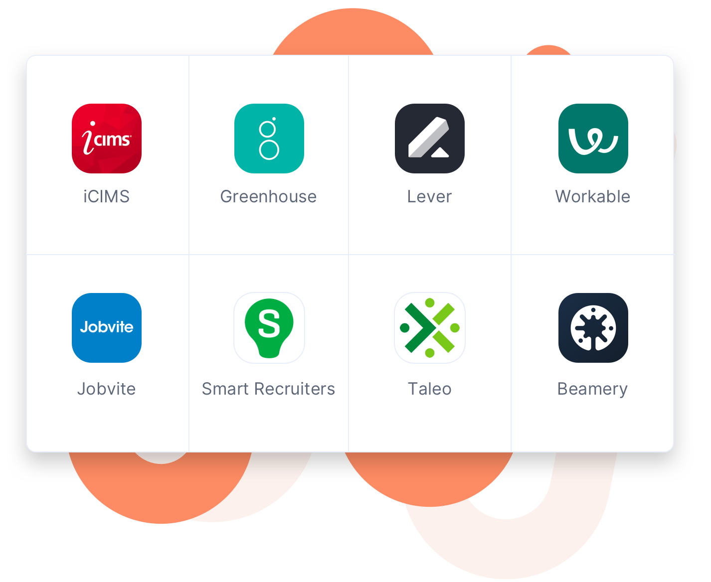 Image of applicant tracking systems that integrate with Drafted