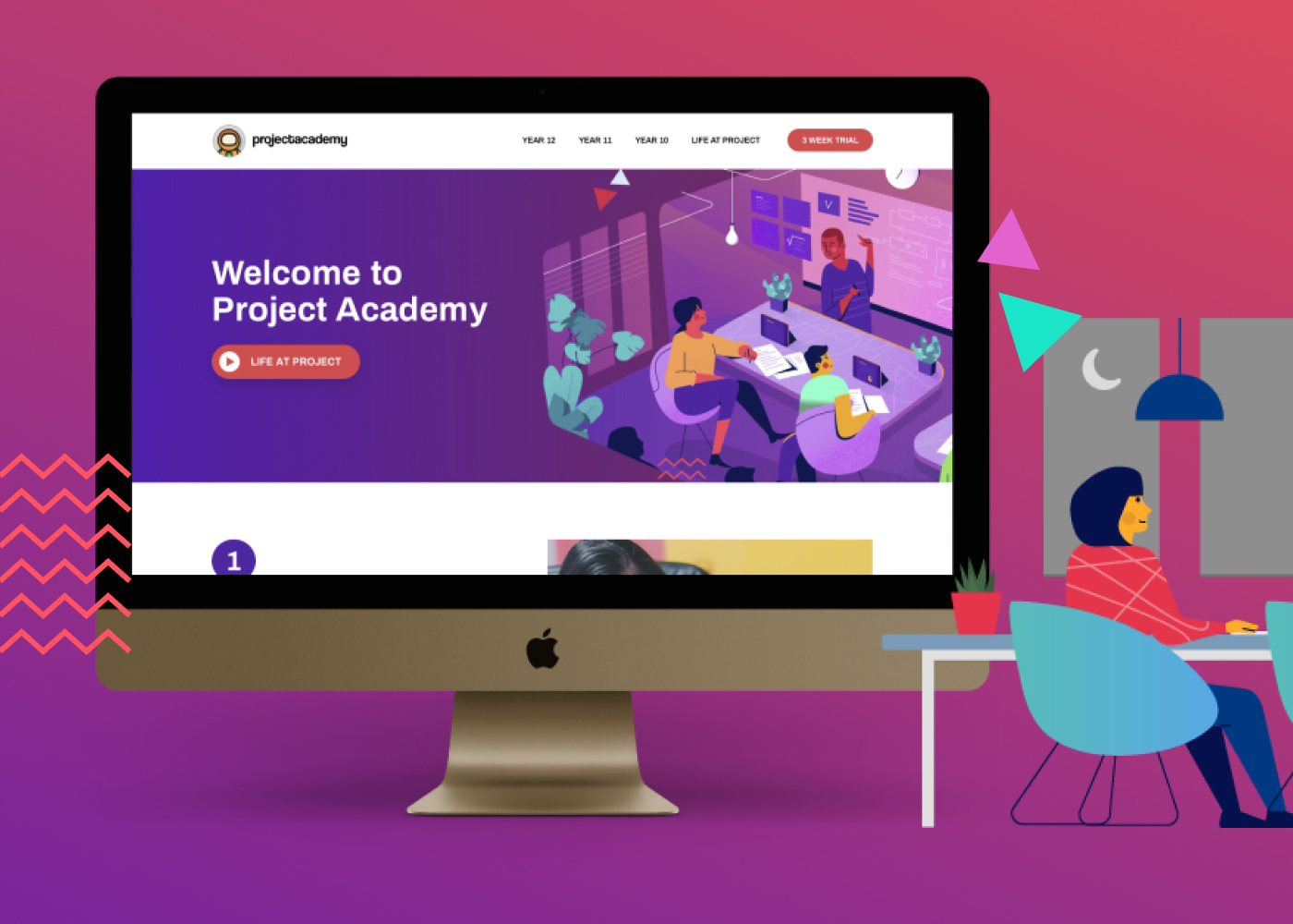 Project Academy Website