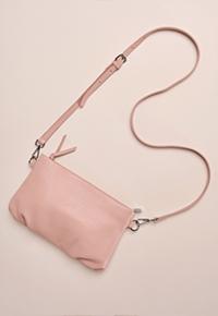 Blue Illusion Alice soft pouch shoulder bag