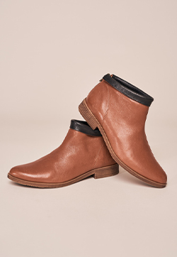 Konny Fold Over Ankle Boot
