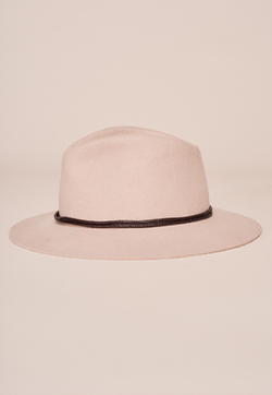 Twist Trim Fedora