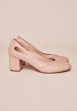 Victoria Block Heel