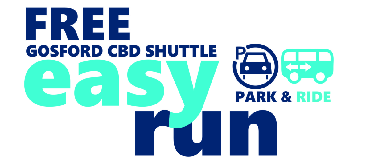 Free Gosford CBD Shuttle Easy Run Logo