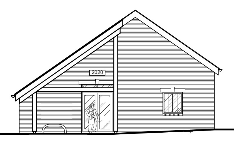 Harborough Magna Village Hall Drawing