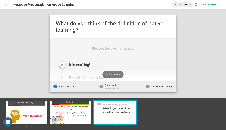 FeedbackFruits Interactive Presentation