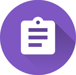 Assignment review icon