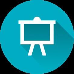 Interactive presentation icon