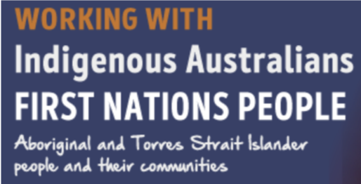 Working with indigenous Australians First Nations people Logo