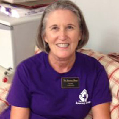 Jane Hodges is a caregiver at The Journey Home