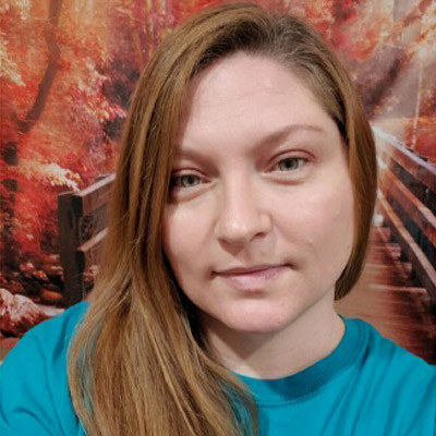 Melissa Gibson is a caregiver at The Journey Home