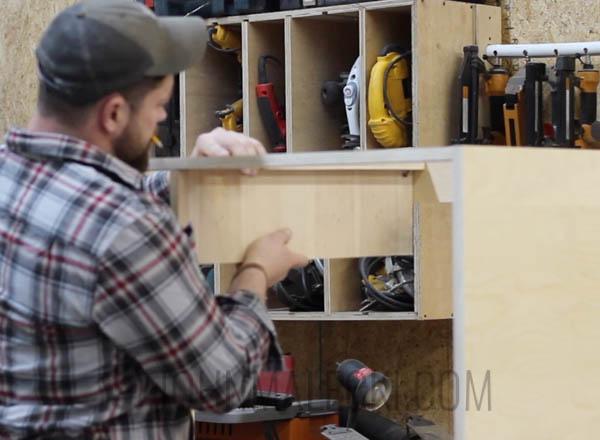 Table Saw Outfeed Table Step-12