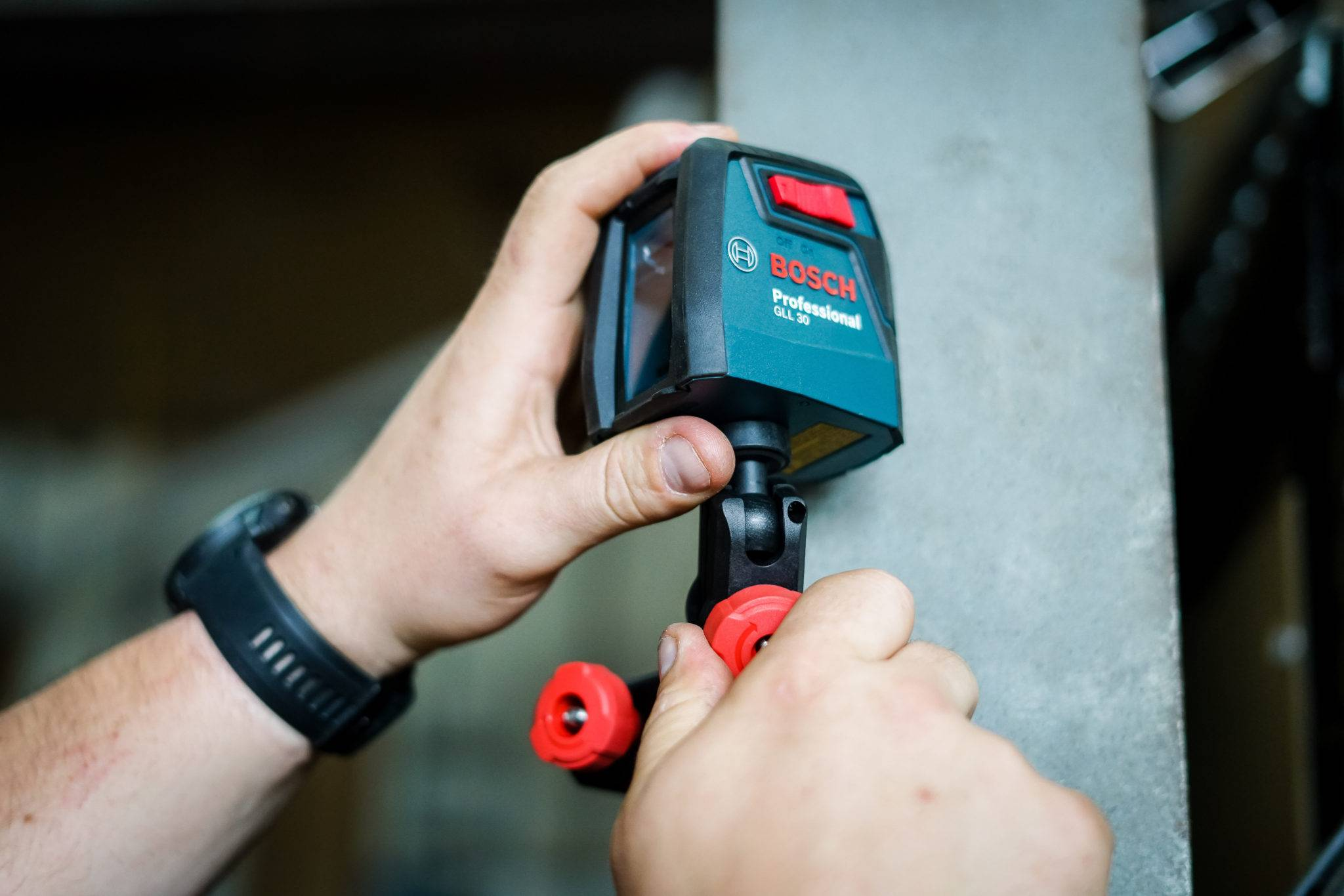 Bosch Cross-Line Self-Leveling Laser