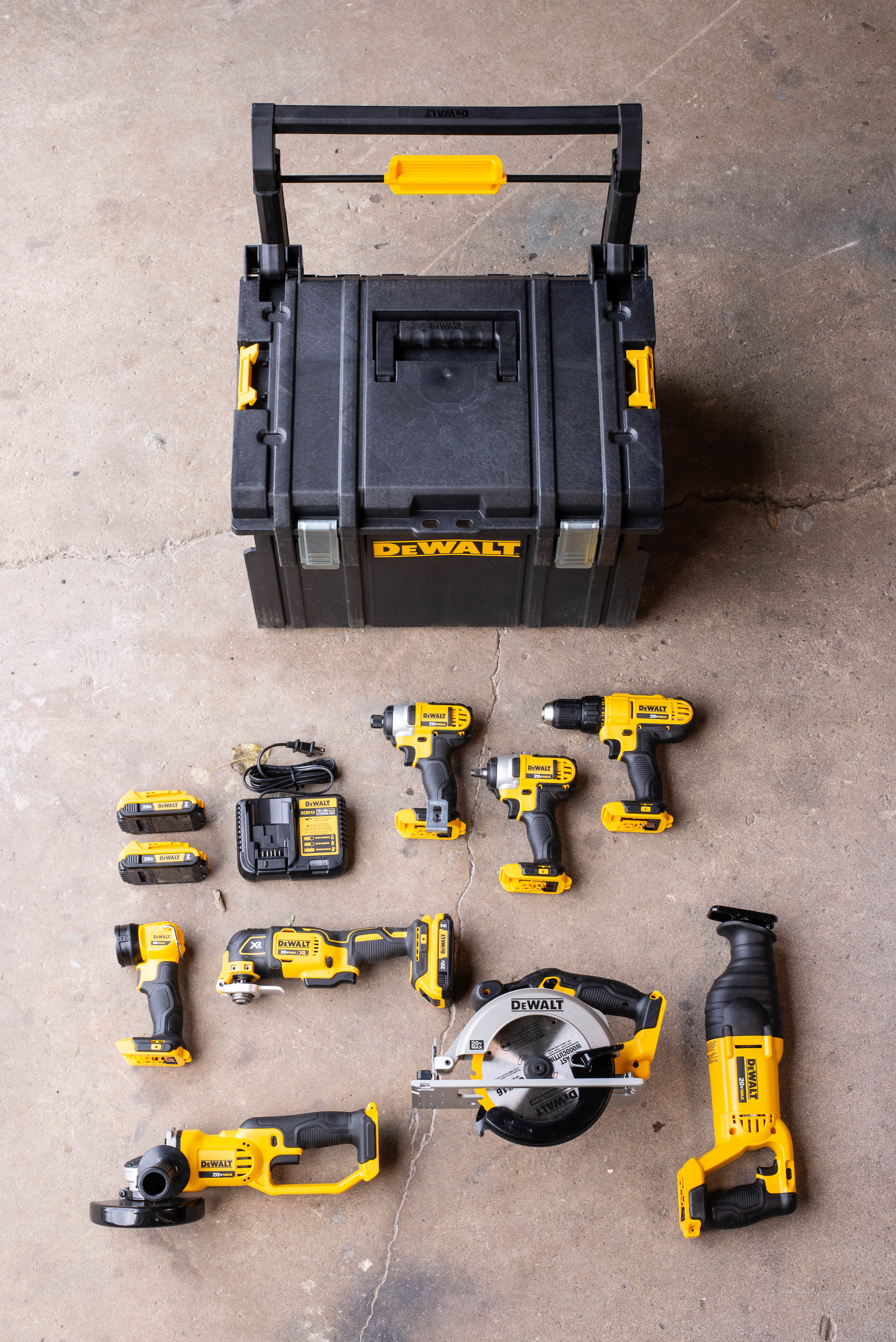 DeWalt Tough System Combo Kit