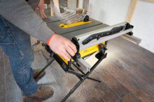 Portable DeWalt Jobsite Saw